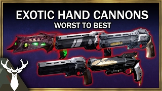 Whats The Best Exotic Hand Cannon For Pvp? (Worst To Best Tier List)