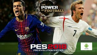 PES2018 Mobile gameplay