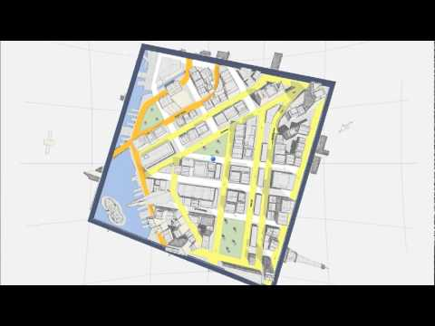 Play Your World with Google Maps (Cube game) - A short video showing the Cube browser game, which is based on Google Maps.