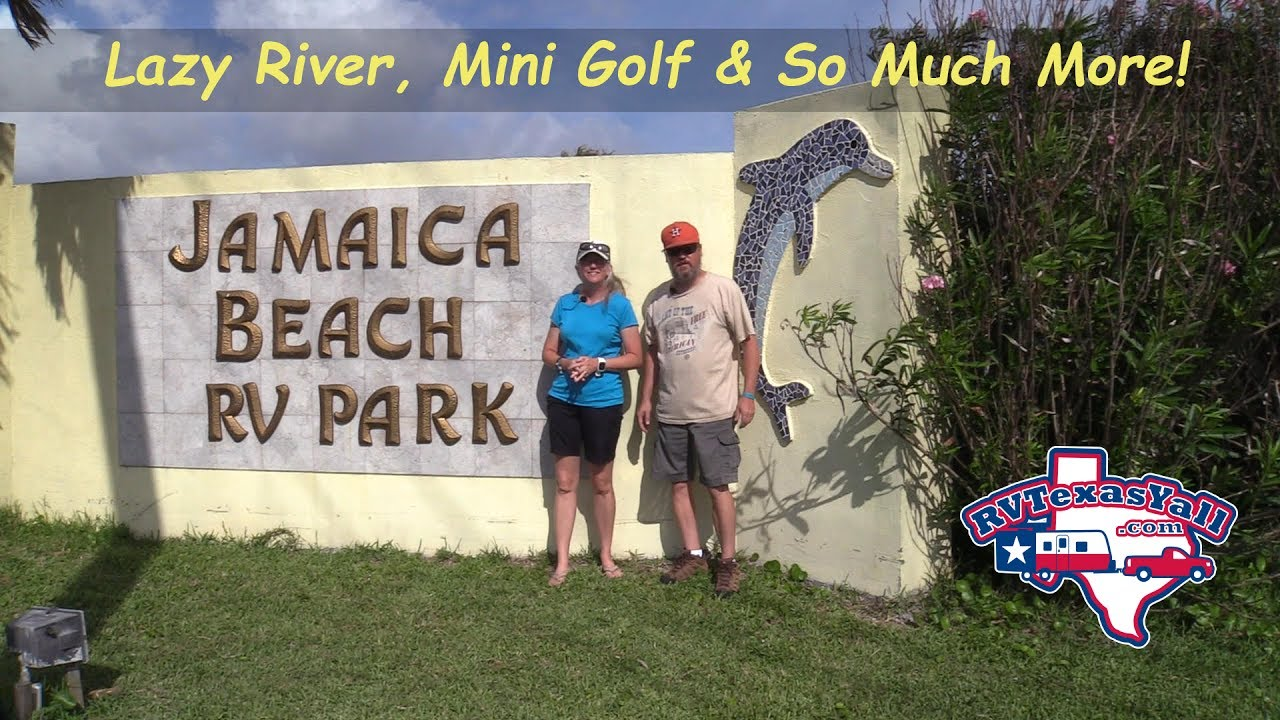 Rv Park Tour Jamaica Beach In Galveston Texas You
