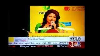 Ruchika Davar anchors on CNBC