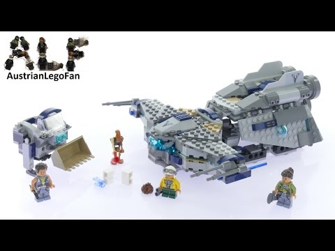 Lego Star Wars 75147 Star Scavenger - Lego Speed Build Review