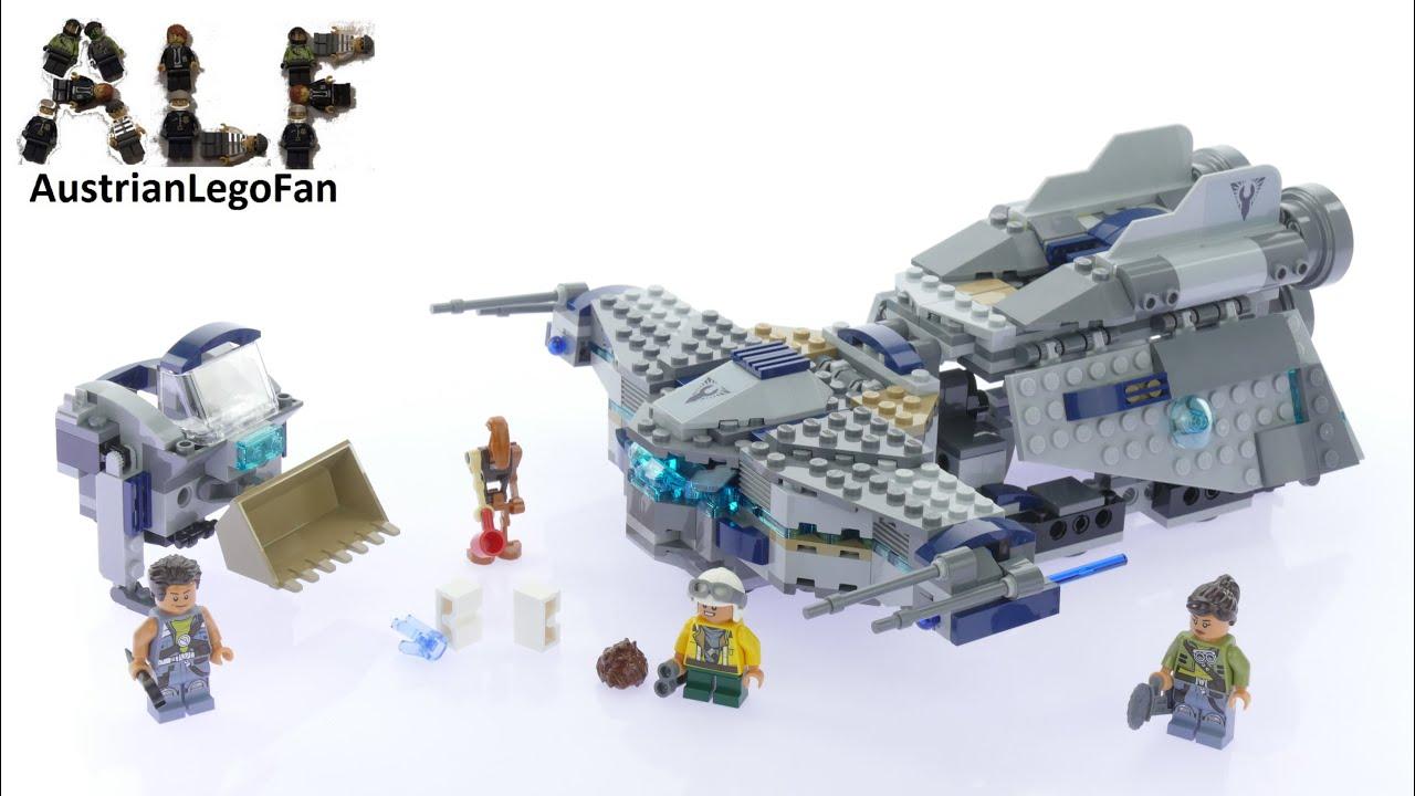 lego star wars 75147 star scavenger lego speed build