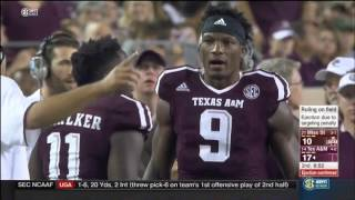 Texas A&M vs Mississippi State 2015 - Highlights