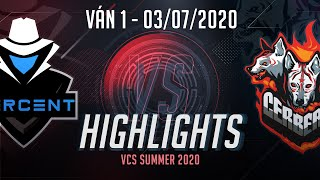 Highlights OPG vs CES [Ván 1][VCS Mùa Hè 2020][03.07.2020]