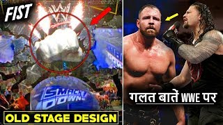 Smackdown Old FIST Stage COMING BACK!!🔥 Roman Against Dean Ambrose After Leaving WWE 2019
