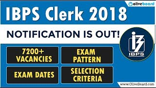 IBPS Clerk 2018 Notification | 7200+ Vacancies Announced