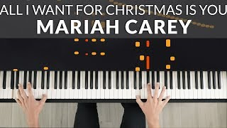 Baixar Mariah Carey - All I Want For Christmas Is You   Tutorial of my Piano Cover
