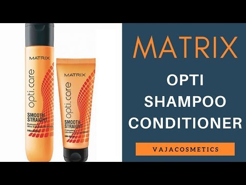 Matrix Opti.Care Shampoo And Conditioner Review And Unboxing