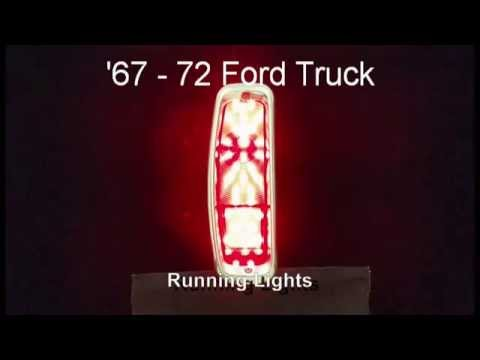 Truck Tail Lights >> 67 - 72 Ford Truck LED Sequential Tail Lights by Easy Performance Products - YouTube