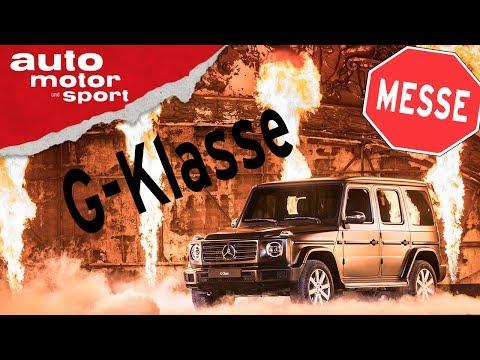 Mercedes G-Klasse Weltpremiere: Ganz der Alte? - NAIAS 2018 Neuvorstellung I auto motor und sport