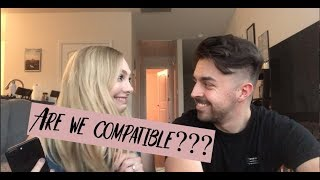 COMPATIBILITY TEST WITH MY FIANCE???
