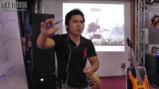 Phương pháp G -P5- Solo ứng dụng - Melody & Fills - Minh Nguyen