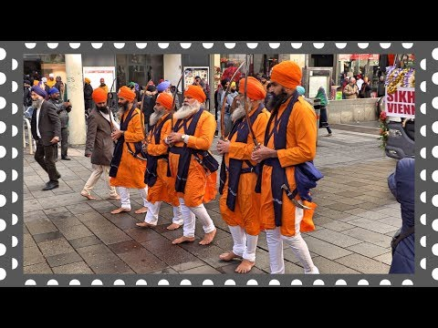 Sikhs in Vienna. The Lion Men and The Princess Women