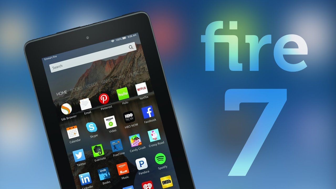 amazon fire 7 tablet review the best budget tablet of 2017 2018