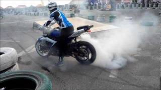 Gulf Bike Week Dubai 2011 - Stunt Arena.
