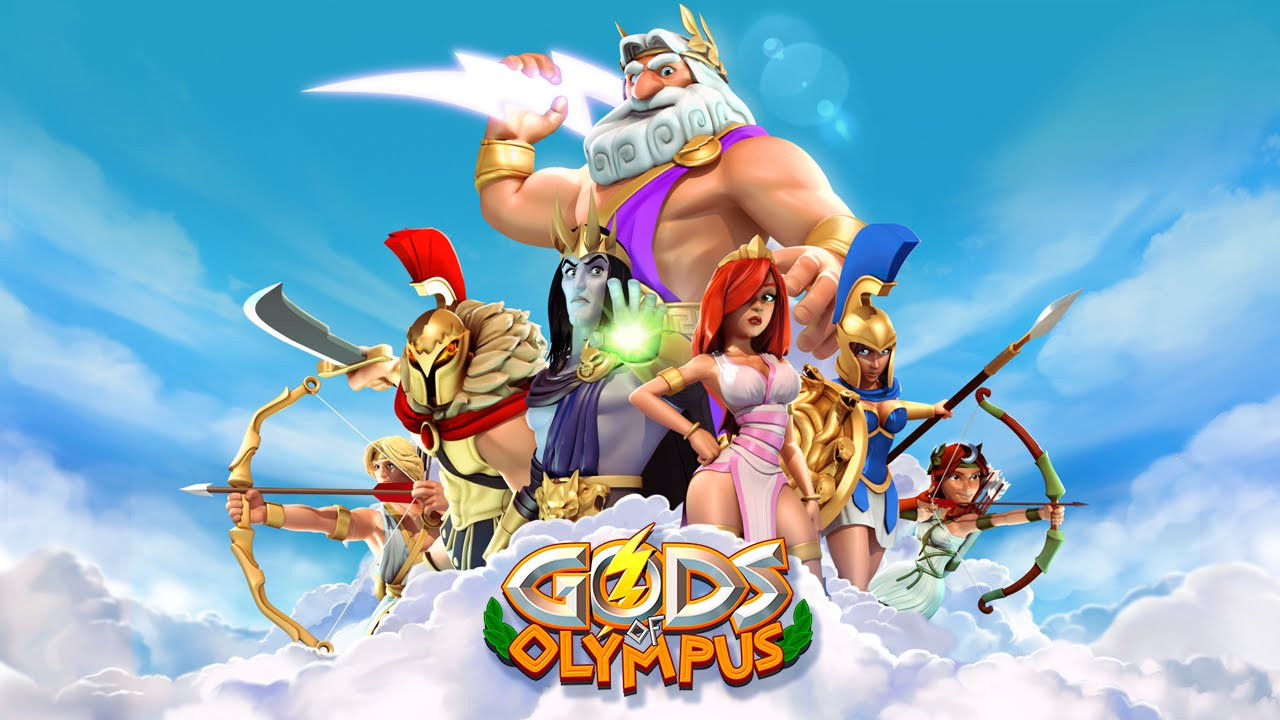 Gods of Olympus - Game play promo - 20 second