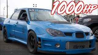1000HP Subaru Launch on the Street and Drag Racing! - Most Reliable Subaru