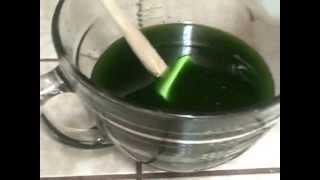 Soap:  Decadent Green Tea And Argan Oil Facial Bar Part 1