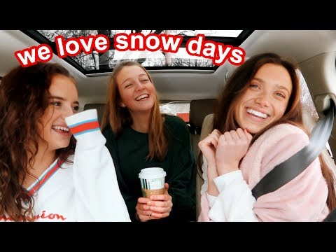 spend a snow day with teenage girls