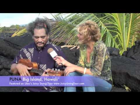 PUNA playing Ukulele in Hawaii, Big island