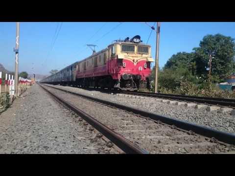 OLD STAR BHUSAWAL WAM4 with JAIPUR-NAGPUR Express