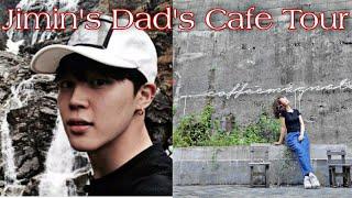 I MET JIMIN'S DAD IN HIS CAFE!