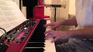 Mike Oldfield - Tubular Bells [piano + Farfisa, live]
