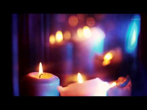 Fireplace with candles - Kaminfeuer mit Kerzen - 1 hour free chillout in HD