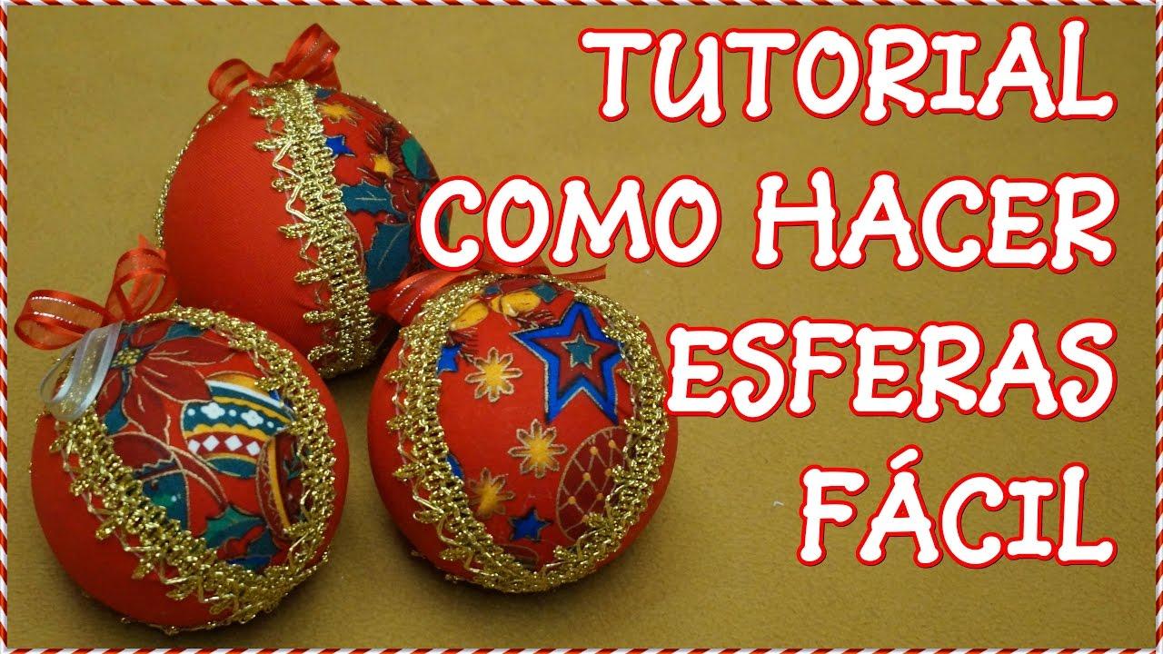 Tutorial esferas de navidad youtube - Esferas de navidad ...