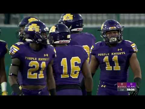 Game Replay:  De La Salle vs. St. Augustine (Louisiana)