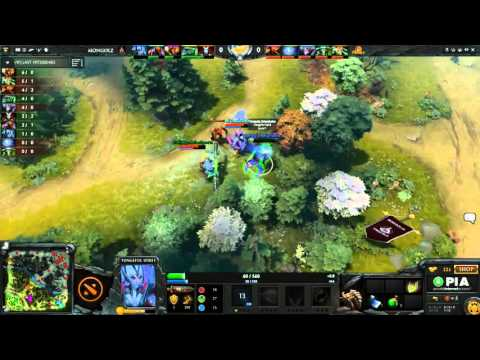 The Mongolz vs Signature.Trust Group Stage Game 1 - Manila Major SEA Qualifier