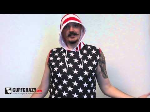 Stars & Stripes American Flag Tank Top Shirt