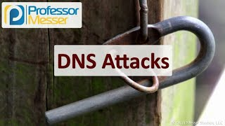 DNS Attacks - SY0-601 CompTIA Security+ : 1.4
