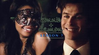 The Vampire Diaries, Season 7 Trailer || Damon and Bonnie
