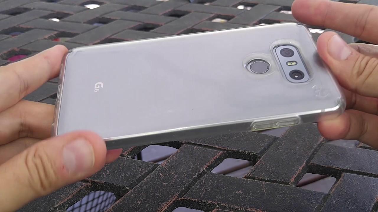wholesale dealer 8fffa 271bf LG g6 Speck Presidio Clear Case review