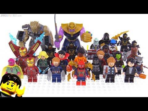 LEGO Avengers Infinity War figures collection so far!