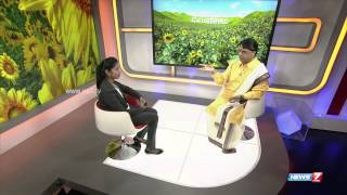 Velicham: Carnatic vocalist  O S  Arun in  News 7 Tamil studio (1/2)