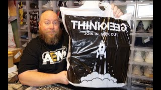 Opening up 5 Game Stop / Think Geek Funko POP Mystery Boxes Trying for Chase Variations