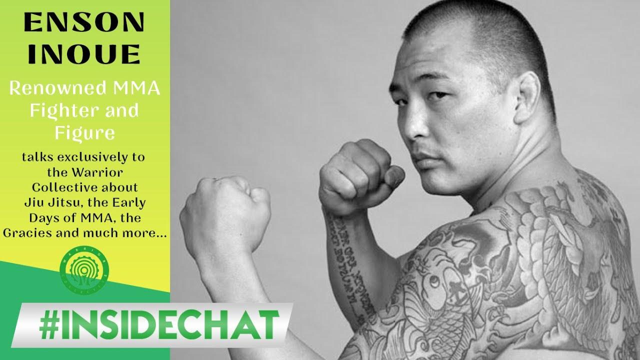 Enson Inoue - talks the early days of MMA, Jiu Jitsu and Yamato Damashii on #InsideChat