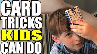 Card Tricks Kids Can Do!