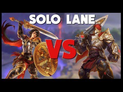Ability Warriors VS Auto Attack Warriors in Solo Lane | Smite Mini-Guide