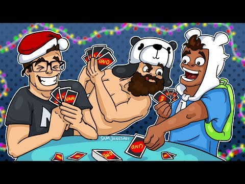 Raging In A Winter Wonderland - UNO Funny Moments!