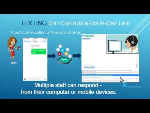 SMS Text Conversations - Using Your Existing Business Phone Line