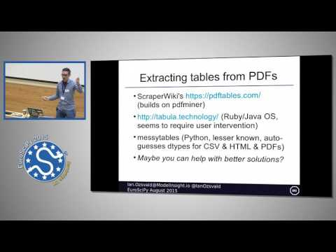 Data Cleaning on Text to Prepare for Analysis and Machine Learning | EuroSciPy 2015 | Ian Ozsvald