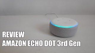 Review Amazon Echo Dot 3ª Generacion Nuevo Altavoz Asistente 2019
