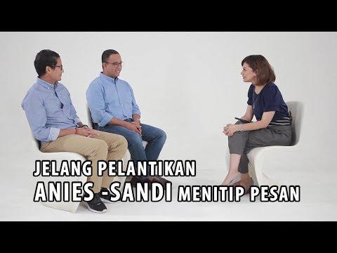 Jelang Pelantikan, Ini Pesan Anies-Sandi untuk Warga Jakarta (Part 1)