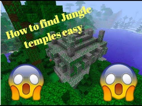 minecraft jungle temple finder