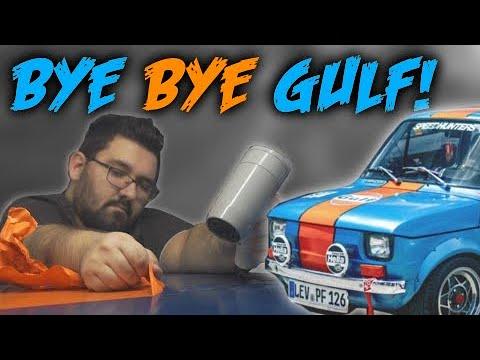 (Fiat 126 ) Bye Bye Gulf | Neuer Look für Cookie!
