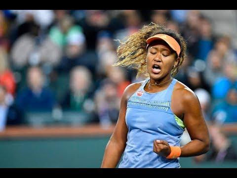 BNP Paribas Open 2018: Naomi Osaka vs. Simona Halep